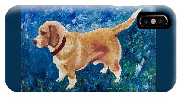 The Regal Beagle IPhone Case