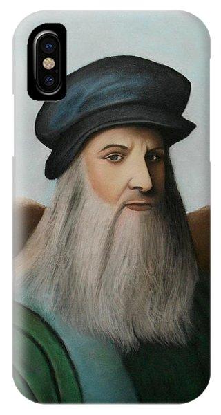 The Master Of Renaissance - Leonardo Da Vinci  IPhone Case