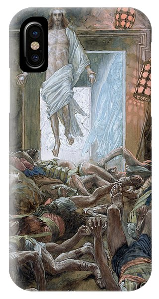 Again iPhone Case - The Resurrection by Tissot