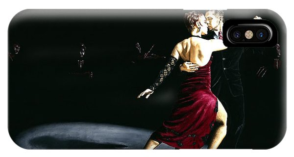 Tango iPhone Case - The Rhythm Of Tango by Richard Young