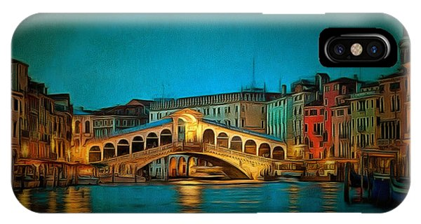 The Rialto Bridge IPhone Case
