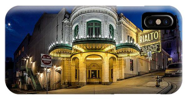 The Rialto Theater - Historic Landmark IPhone Case