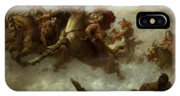The Ride Of The Valkyries  IPhone Case