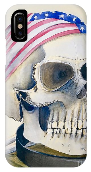 The Rider's Skull IPhone Case