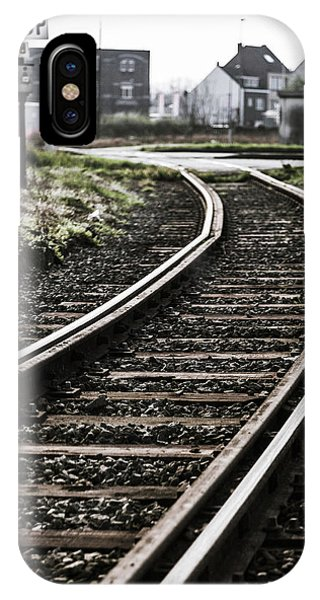 The Right Track? IPhone Case