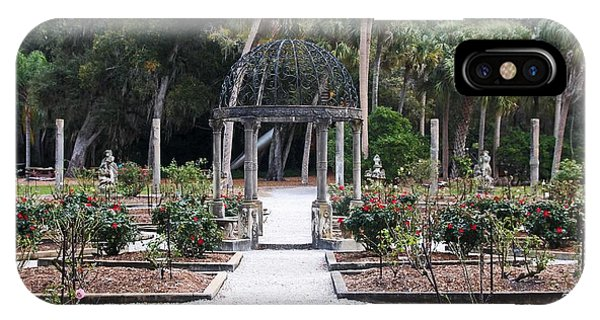 The Ringling Rose Garden IPhone Case