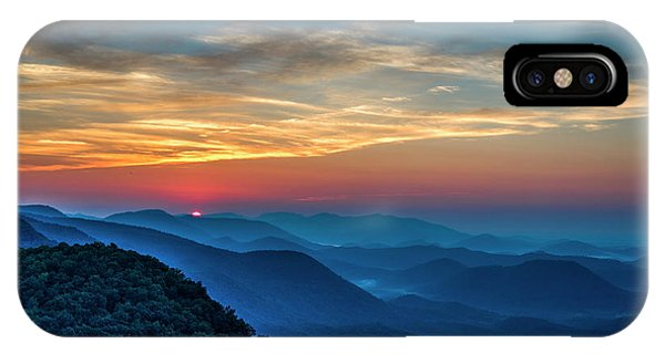 The Rising Sun Pretty Place Chapel Greenville S C Great Smoky Mountain Art IPhone Case