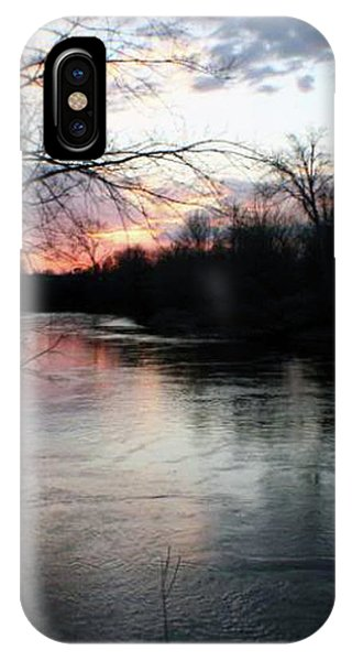 The River At Sunset IPhone Case