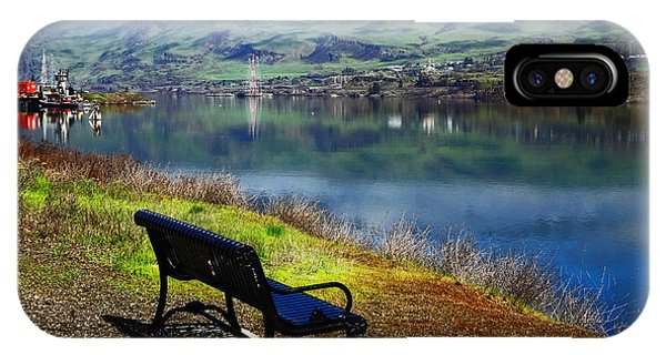 The River Bench IPhone Case