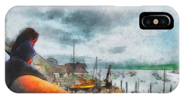 The River Exe IPhone Case