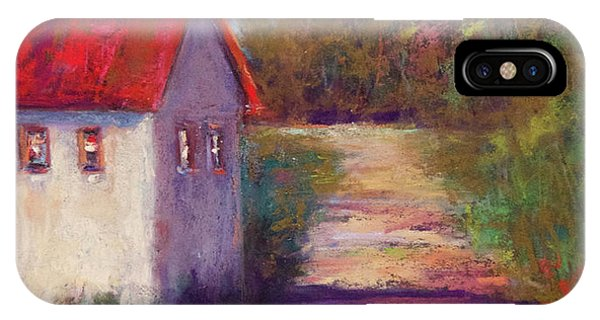 The Road Behind Phone Case by Joyce A Guariglia