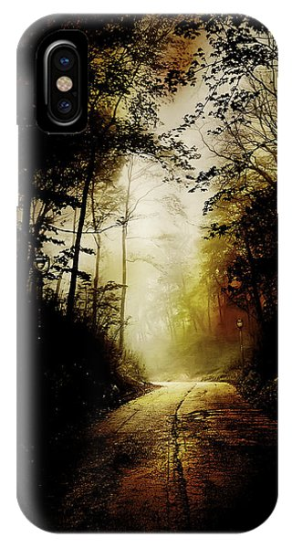 Abandon iPhone Case - The Road To Hell Take 2 by Scott Norris