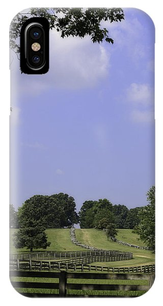 The Road To Lynchburg From Appomattox Virginia IPhone Case