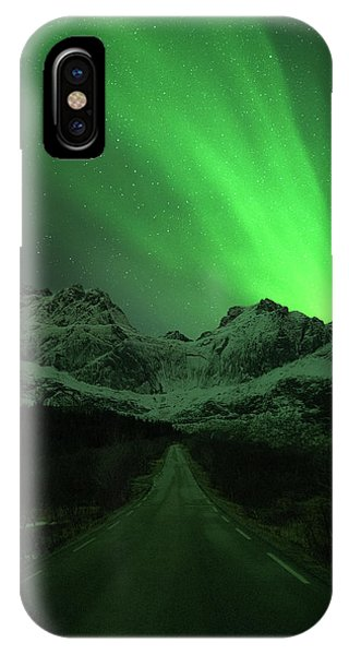 Astro iPhone Case - The Road To Nusfjord by Tor-Ivar Naess