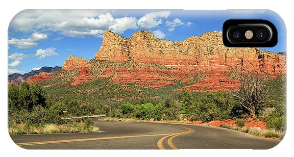 The Road To Sedona IPhone Case