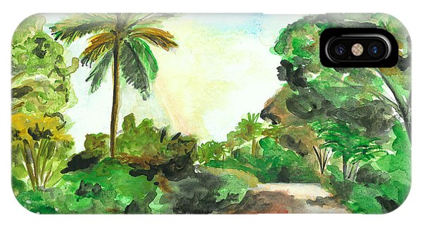 The Road To Tiwi IPhone Case