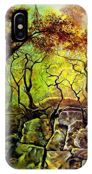 The Rocks In Starachowice IPhone Case