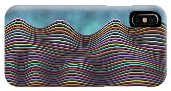 The Rolling Hills Of Subtle Differences IPhone Case