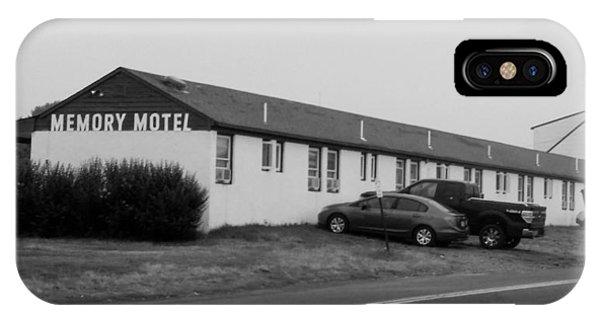 The Rolling Stones' Memory Motel Montauk New York IPhone Case
