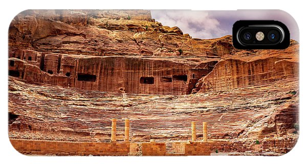 The Roman Theater At Petra IPhone Case