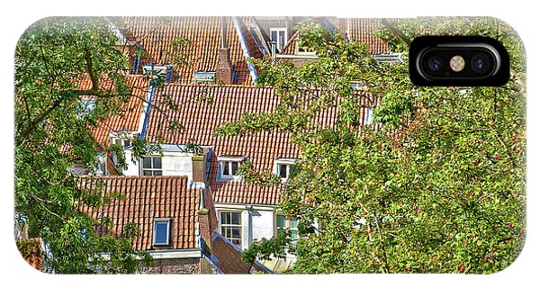 The Rooftops Of Leiden IPhone Case