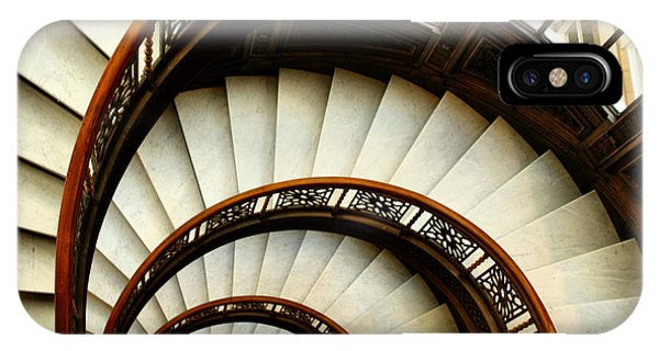 The Rookery Spiral Staircase IPhone Case