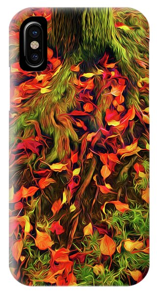 The Root Of Fall IPhone Case