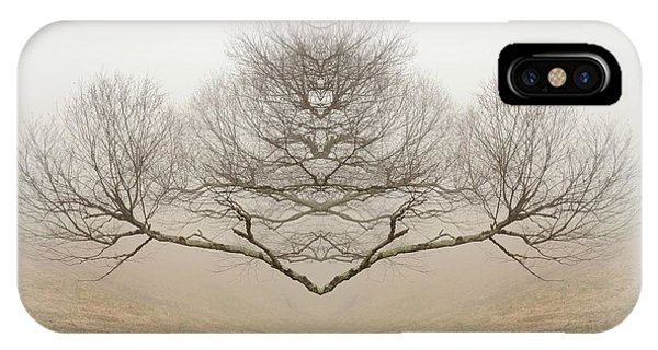 The Rorschach Tree IPhone Case