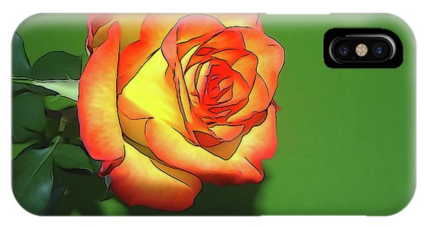 The Rose 4 IPhone Case