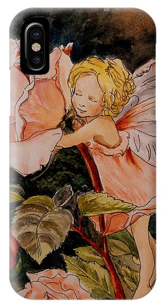 The Rose Fairy After Cicely Mary Barker IPhone Case