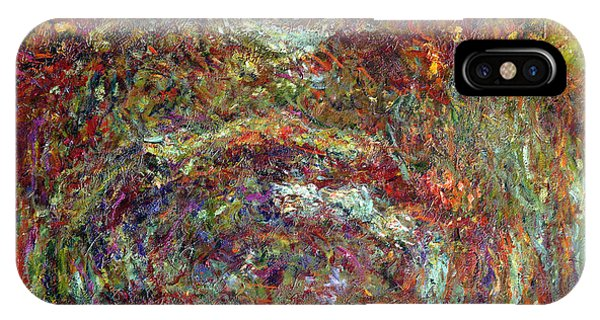 French Artist iPhone Case - The Rose Path Giverny by Claude Monet