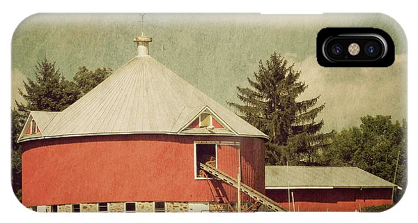 The Round Barn IPhone Case