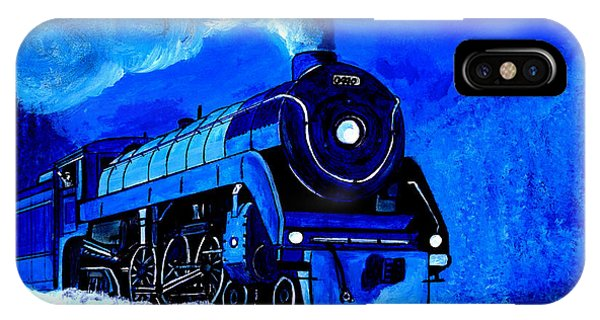 The Royal Blue Express IPhone Case
