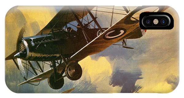Airplane iPhone Case - The Royal Flying Corps by Wilf Hardy
