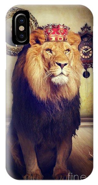 The Royal Lion IPhone Case