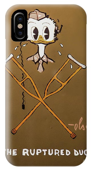 The Ruptured Duck IPhone Case