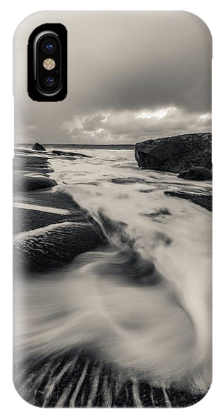 The Rush Of The North Sea IPhone Case