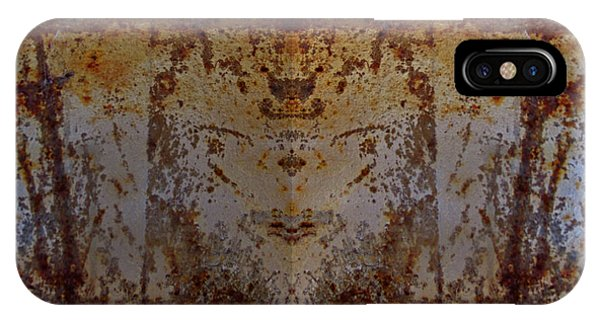 The Rusted Feline IPhone Case
