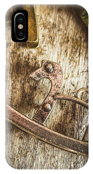 Pendant iPhone Case - The Rusted Toy Horse by Jorgo Photography - Wall Art Gallery