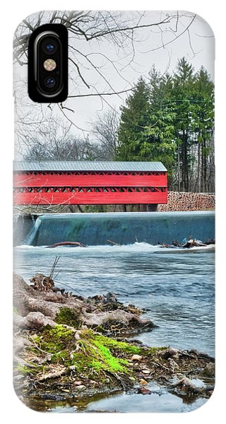 IPhone Case featuring the photograph The Sachs by Mark Dodd