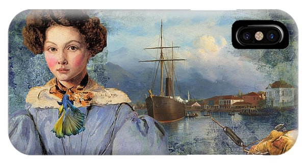 iPhone Case - The Sailor And The Maiden by Laura Botsford