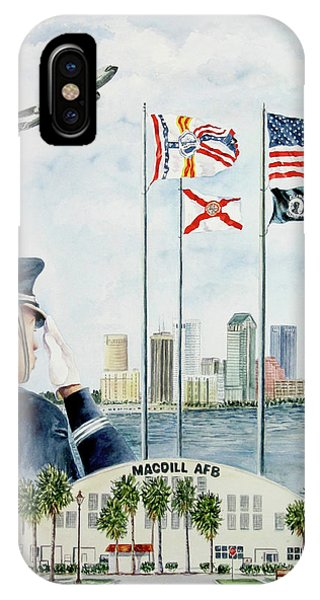 The Salute IPhone Case