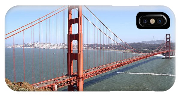 The San Francisco Golden Gate Bridge 7d14507 IPhone Case