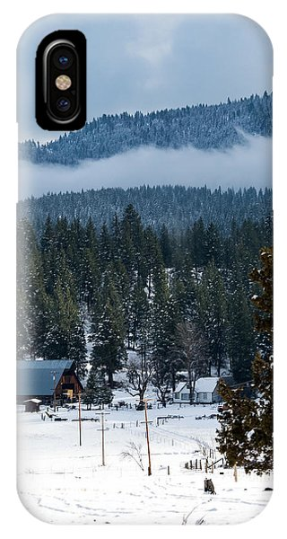 IPhone Case featuring the photograph The Satica Ranch by The Couso Collection