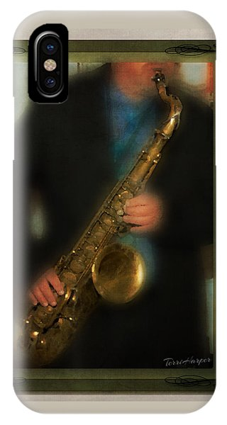 The Sax Player IPhone Case