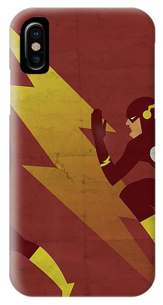Scarlet iPhone Case - The Scarlet Speedster by Michael Myers