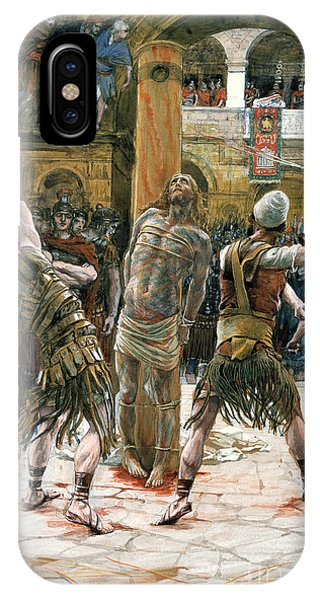 Columns iPhone Case - The Scourging by Tissot