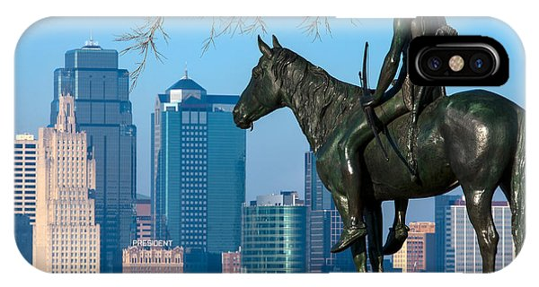 The Scout Statue IPhone Case