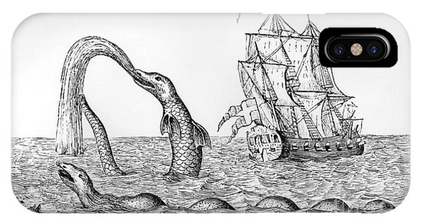 The Sea Serpent IPhone Case