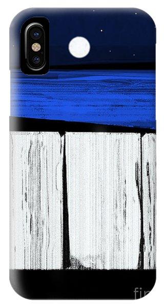 The Seawalls No.4 Full Moon Rising IPhone Case